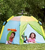 "Pacific Play Tents Kids One Touch Tent, UV Treated, Pastel Colors - 48"" x 48"" x 36"""