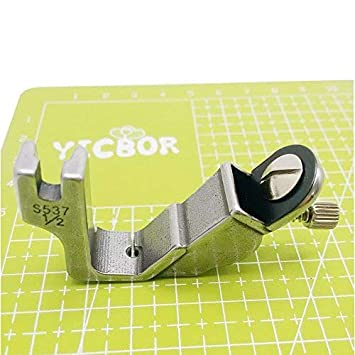 YICBOR - Pie elástico para máquina de coser Brother Janome Juki (ajustable, S537 1/2): Amazon.es: Hogar