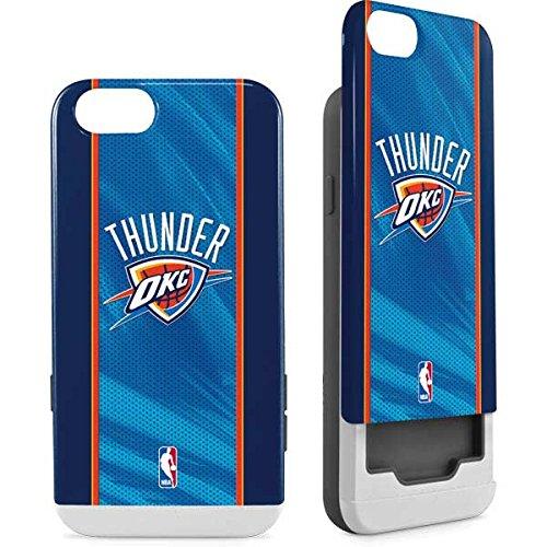 Oklahoma City Thunder iPhone 6/6s Case - Oklahoma City Thunder Blue Jersey | NBA X Skinit Wallet Case