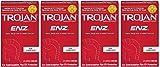 Trojan ENZ hKpSKJ Non-Lubricated Condoms, 12 Count (Pack of 4)