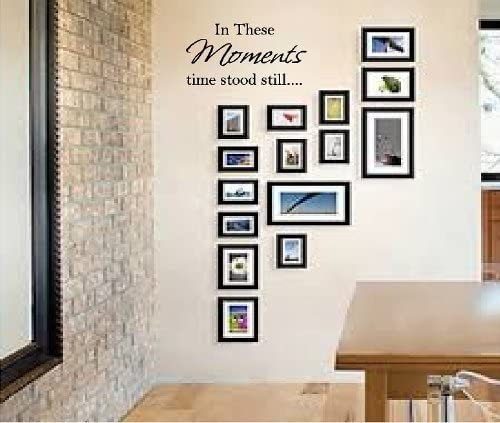THESE MOMENTS STOOD LETTERING STICKER product image