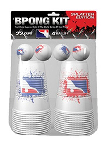 Beer Pong Kit - Beer Pong Cups and Balls Kit