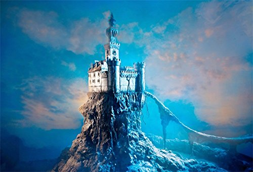 LFEEY 7x5ft Mystery Medieval Castle Backdrop for Photoshoots Fairytale Fantasy Kids Children Birthday Party Gathering Decor Ancient Myth Fort Palace Photo Background Studio Props for $<!--$18.99-->