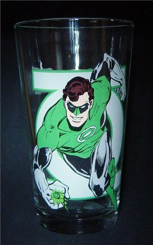 Toon Tumblers DC Heroes Assortment 02 - Green Lantern by PopFun Merchandising (Green Glass Lantern)