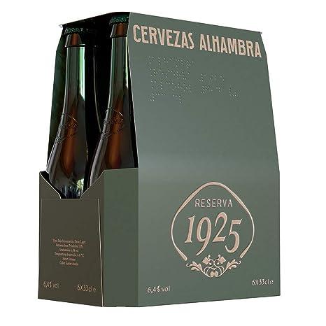 Alhambra Reserva1925 Cerveza Premium Extra Lager, 6.4% de Volumen ...