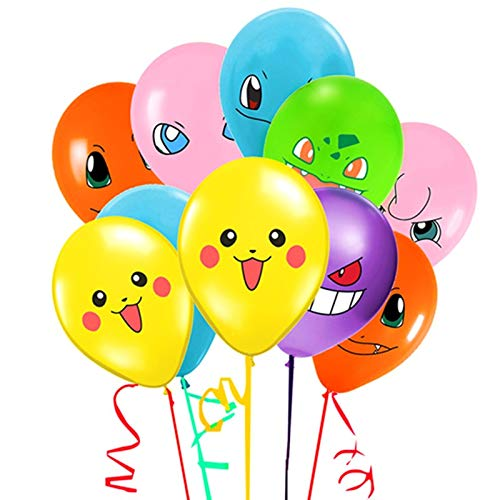 Merchant Medley 21 Count Video Game Birthday Balloons - Large 12 Inch Size - Includes 7 Styles -