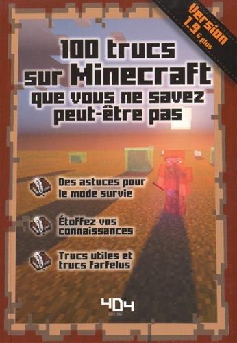 Télécharger Trucs Sur Minecraft Que Vous Ne Savez Peut être Pas - Minecraft hauser pdf