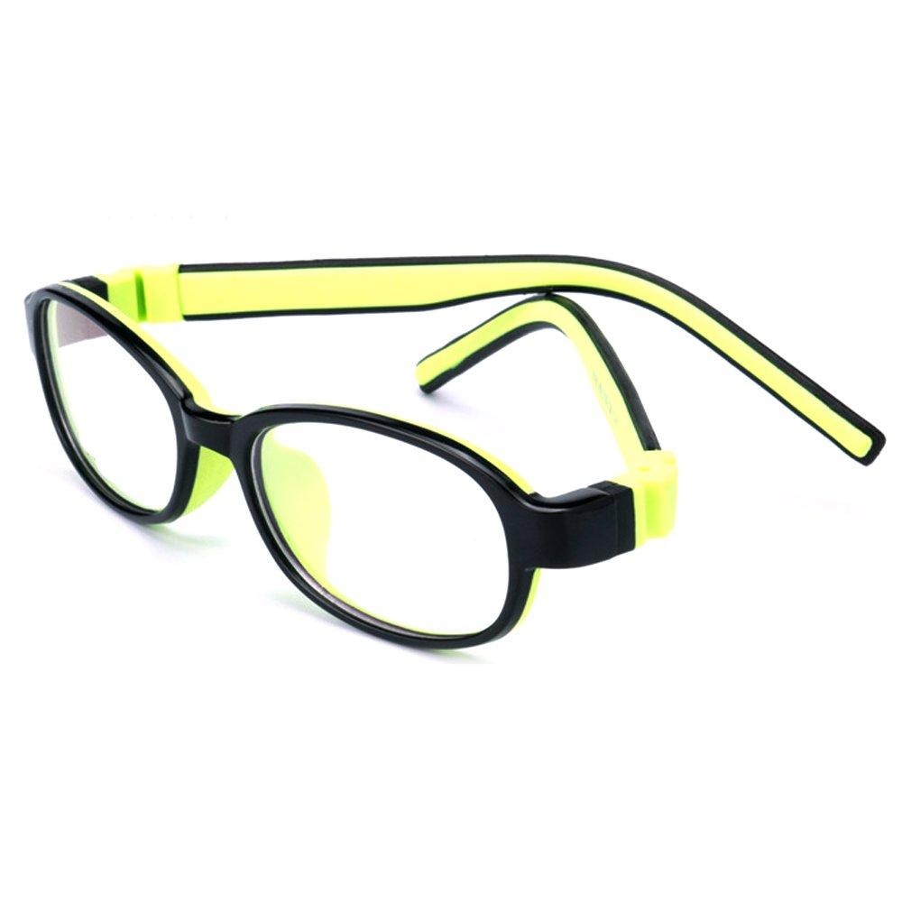 Fantia Children Soft Silicone Frame Kids Eyeglasses For Toddler (C8)