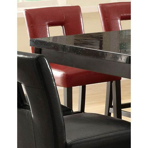 Coaster Home Furnishings Counter Stool in Red – Set of 2