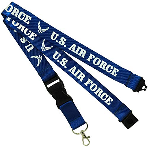 Jenkins Enterprises U.S. Air Force Keychain/Badge Holder Lanyard