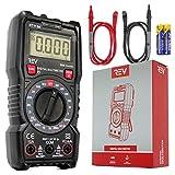 VViViD REV 2000 Count Digital Multimeter with Ohm Volt Amp and Diode Voltage Tester