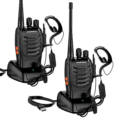 Walkie Talkie for Adults, StillCool 2pcs Long Range Two-Way Radios with Rechargeable Battery, Headphone, Charger and…