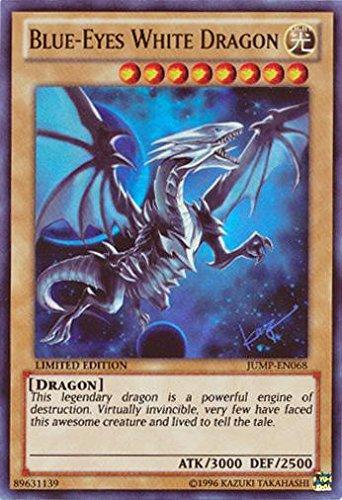 amazon com yu gi oh blue eyes white dragon jump en068 ultra