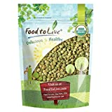 Organic Green Lentils, 3 Pounds — Whole Dry Beans, Non-GMO, Kosher, Raw, Sproutable, Bulk