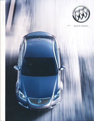 Amazon.com : 2011 Buick Regal Deluxe Sales Brochure Catalog : Everything Else