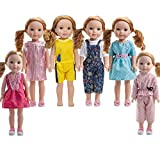 #9: 6PCS doll Clothes fits 14 inch 14.5inch doll American Girl Wellie Wishers dolls