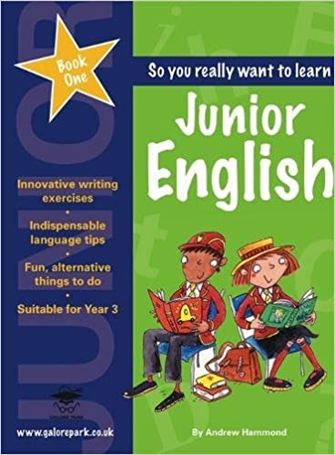Junior English: Book 1: Andrew Hammond: 9781902984827: Amazon.com ...