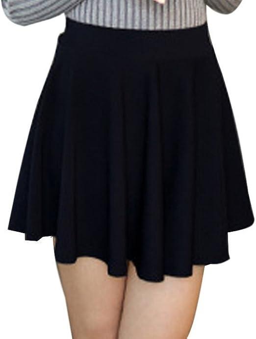 Minetom Mujer Chicas Delgado Minifalda Verano Moda Corto Vestidos ...