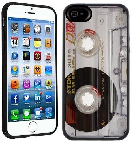 Kassette | Handgefertigt beim Verkäufer Case Creatives | iPhone 6 6s (4,7') | Schwarze Hülle