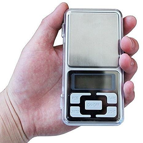 Nueva llegada 200 G x 0,01 G báscula Digital joyas oro Herb equilibrio peso gramo LCD mayorista: Amazon.es: Electrónica