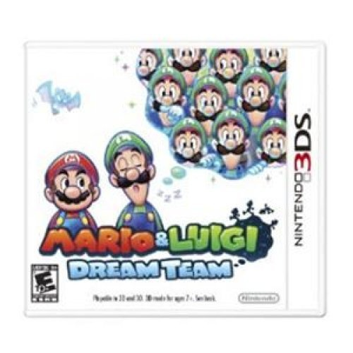 Nintendo Mario & Luigi: Dream Team - Action/Adventure Game - Cartridge - Nintendo -
