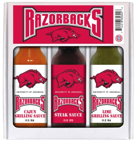ARKANSAS Razorbacks Mini Grilling Set 3x5 ()