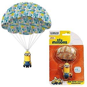 Ich Einfach Unverbesserlich 2 - Minions Fallschirmspringer Fallschirm 45cm,...
