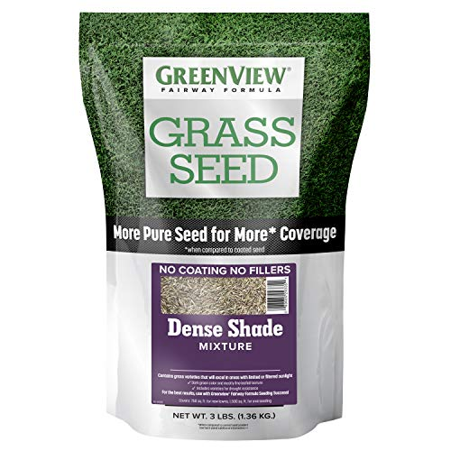 GreenView 2829342 Fairway Formula Grass Seed Dense Shade Mixture, 3 lb
