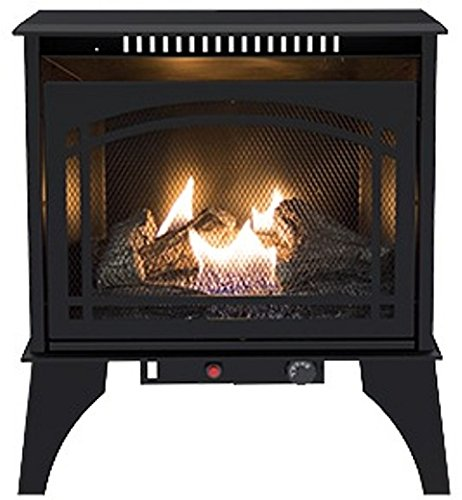 pleasant hearth propane fireplace - 7
