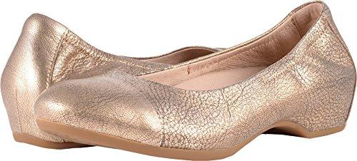 Dansko Women's Lisanne Flat Gold Nappa Size 36 EU (5.5-6 M US Women)