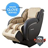 Best Performance L-Track Shiatsu Kahuna Massage Chair LM-7800 (IVORY WG)