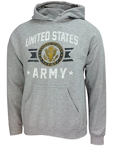 - United States Army Military Long Sleeve Hoodie with Branch Logo