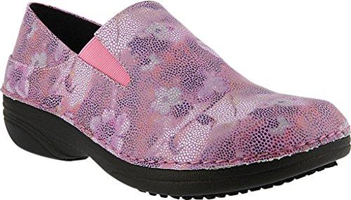 Shoe Mosaic Spring Print Faux Leather Ferrara Lilac Step Women's Work fwOgIB