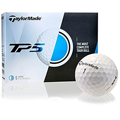 Taylor Made TP5 Personalized Golf Balls
