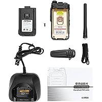 Zerone Dual Band Two-Way Radio, Portable Walkie Talkie Dual Band UHF VHF Mobile FM Transceiver