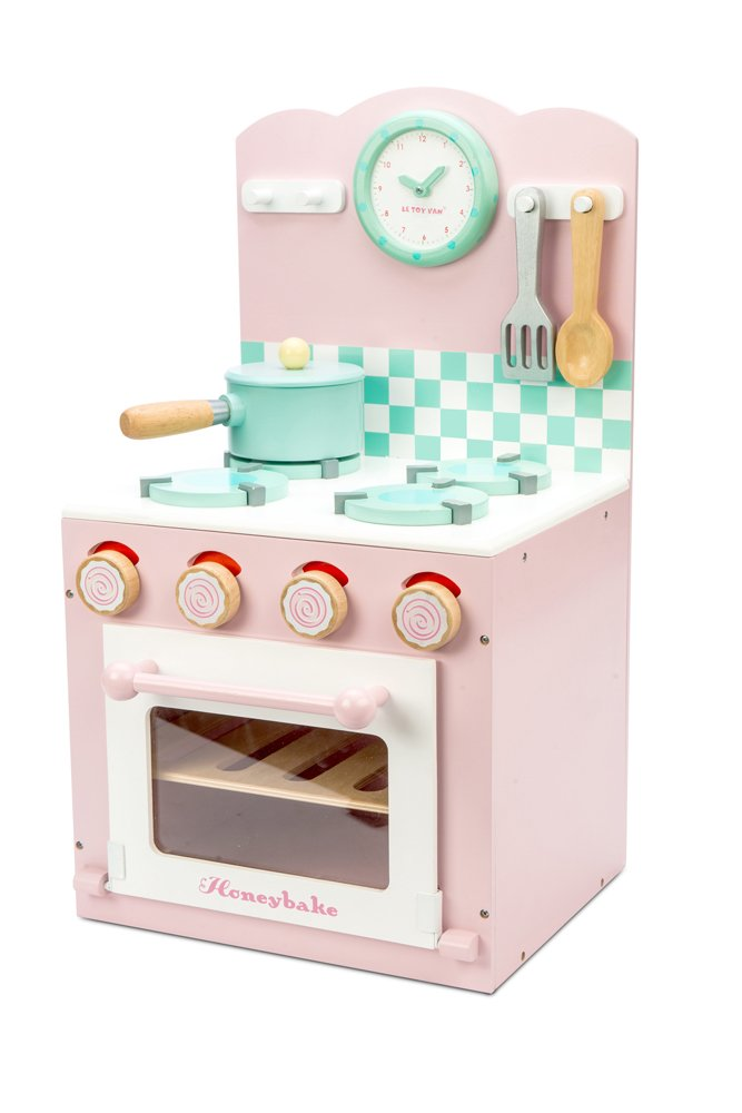 Le Toy Van TV303 Honeybake Collection-Oven Set (Pink) Playset