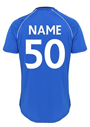 Mens 50th Birthday Official Glasgow Rangers FC Personalised Gift Football Shirt Boxed Royal Blue Amazoncouk Clothing