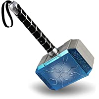 Jaasie Men's Thor Hammer Mjolnir Pretend Game God (Hammer)