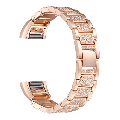 bayite-replacement-metal-bands-with-rhinestone-for-fitbit-charge-2-rose-gold