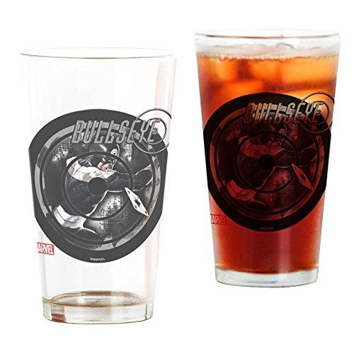 CafePress Bullseye Icon Pint Glass, 16 oz. Drinking Glass