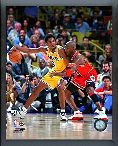 low priced 01e5a da8d6 Kobe Bryant & Michael Jordan NBA Action Photo (Size: 12