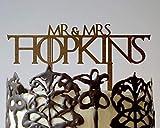 "Game Of Thrones Cake Topper Wedding Cake Topper Game Thrones Wedding Cake Toppers Gold Silver Cake Topper Wedding Is Coming Wedding is Coming GOT Cake Topper GOT Party Toppers Wood Gold Silver 6""-9"""