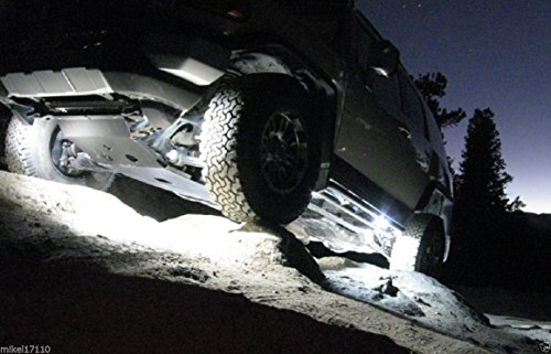 LED Ground Trail Clearance Lights for Jeep Toyota Nissan Ford Chevy RZR UTV & More Jeep Yj Tube