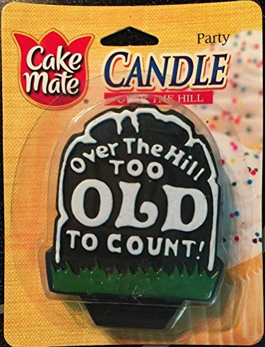 Hill Cake - Cake Mate Party Candles, Over the Hill Candle