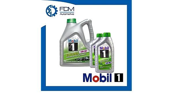 Aceite Motor Mobil1 ESP Formula 5W-30 Fully Synthetic 5W30 6 L: Amazon.es: Coche y moto