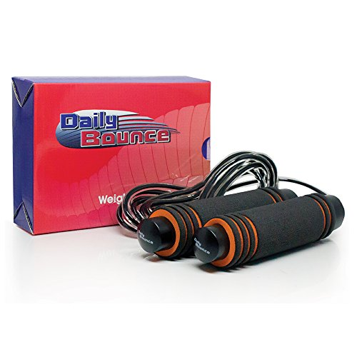 Weighted Jump Rope, Fitness & Training Jump Rope - Best for MMA, Boxing, Fitness, Cross Training