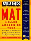 img - for Mat: Miller Analogies Test (Arco Master the Miller Analogies Test) by Eve P. Steinberg (1995-05-03) book / textbook / text book