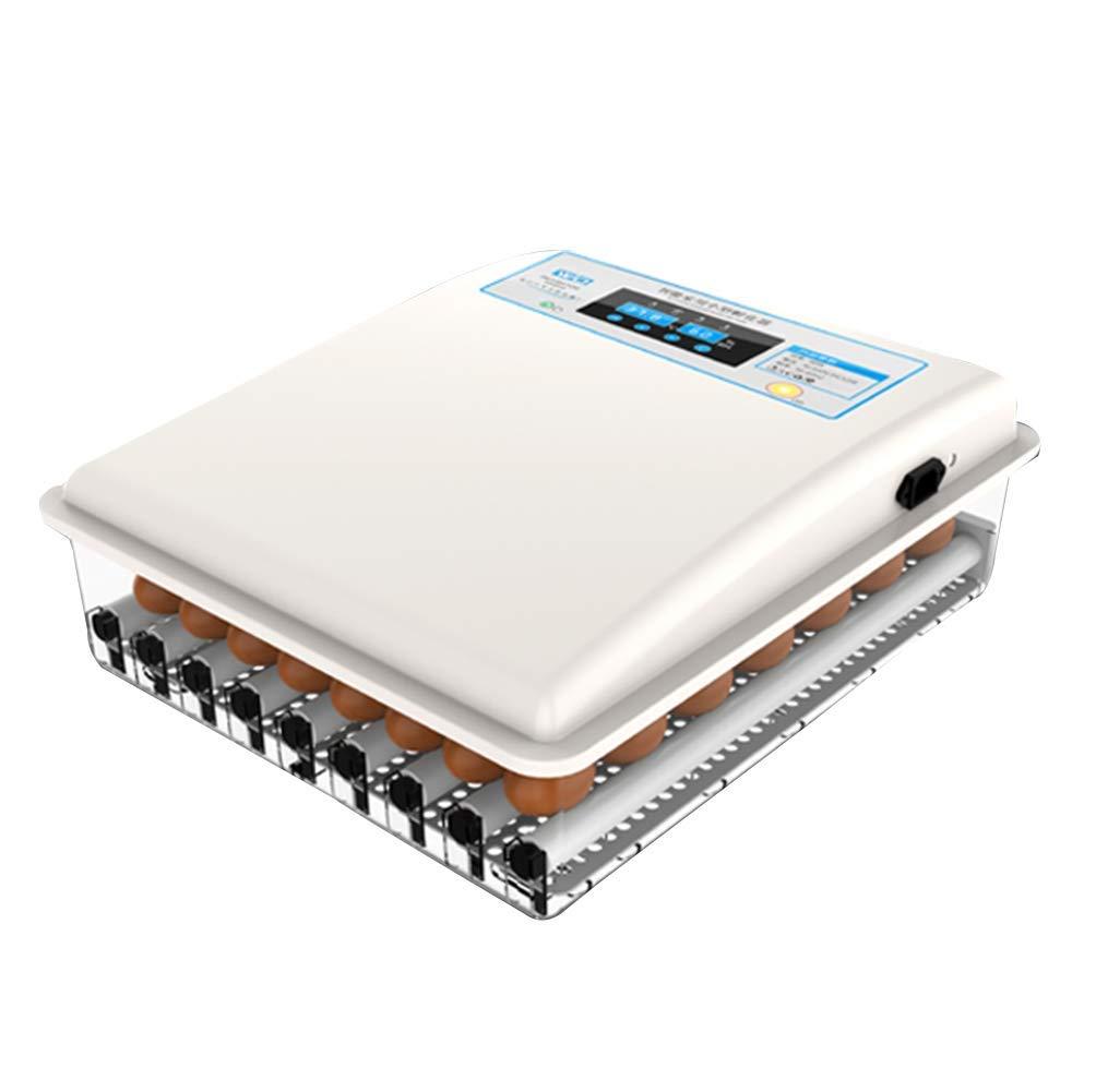 FOTEE Incubatrice di Uova, Automatica Incubatore Uova Intelligente Controllo della Temperatura,bianca_36 Eggs