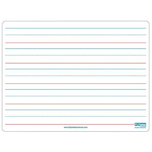 Flipside FLP10076BN Magnetic Dry Erase Board, 9 X 12, Ruled, MultiPk 3 Each