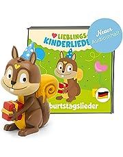 tonies Luisterfiguren voor Toniebox, favoriete kinderliedjes – verjaardagsliedjes, kinderliedjes voor kinderen vanaf 3 jaar, speeltijd ca. 60 minuten
